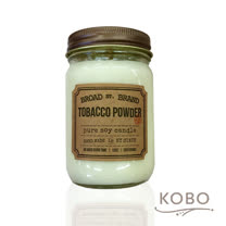 【KOBO】美國大豆精油蠟燭 - 爽身粉 (360g/可燃燒60hr)