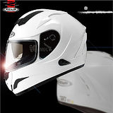【ZEUS 瑞獅 ZS-806F 素色 】全罩安全帽│內藏墨片設計│內襯全可拆│機車騎士│輕量化