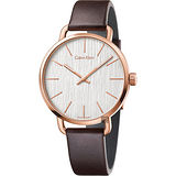 Calvin Klein CK Even 超然木質時尚腕錶-42mm K7B216G6