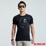 BOBSON  男款貼鋁片上衣(26014-88)