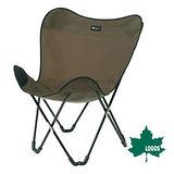 【日本 LOGOS】大椅背蝴蝶椅.休閒椅.野營椅.折合椅/收納方便/LG73173015