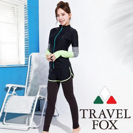 【旅狐TRAVEL FOX】大女三件式衝浪裝C16708