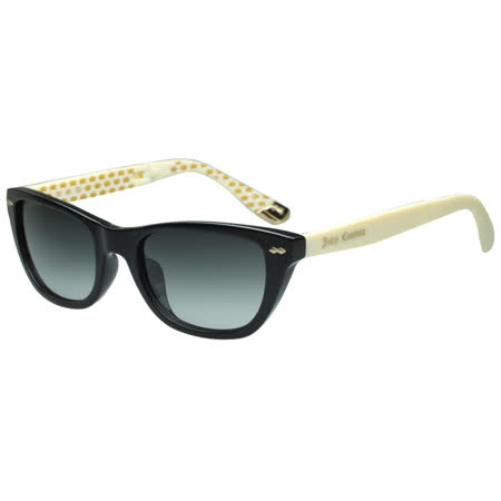 Juicy Couture 時尚太陽眼鏡(黑色+白腳)