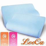 LooCa抗菌防蹣人體工學記憶枕2入