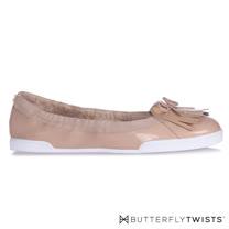 BUTTERFLY TWISTS-ROBYN都會輕量平底鞋-粉膚色
