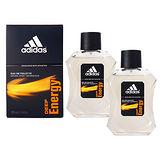【買一送一】Adidas Deep Energy 愛迪達完美勁能運動男性淡香水 100ml