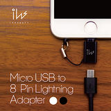 Innowatt【3件組】 Micro USB to Lightning 轉接頭