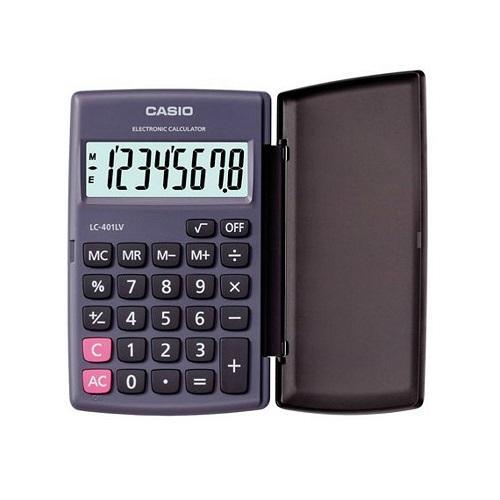 CASIO卡西歐 CASIO卡西歐 8位數摺疊狀攜帶型國家考試 計算機~~ LC~401L