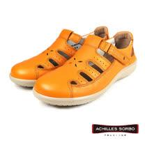 【Achilles SORBO】輕量機能涼鞋/女鞋 黃色(SRL2000-TAN)