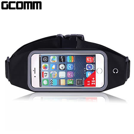GCOMM 穿戴式音樂防汗水運動腰包 5.7吋以下通用