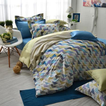 IN HOUSE-Sweden street-300织纱精梳棉-两用被床包组(双人)