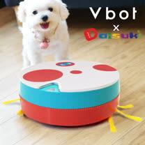 Vbot x Daisuki i6+ 三代聯名限量 掃+擦智慧鋰電地慕斯蛋糕掃地機器人-叢林牛仔象