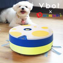 Vbot x Daisuki i6+ 三代聯名限量 掃+擦智慧鋰電地慕斯蛋糕掃地機器人-夜中鐵庫鳥