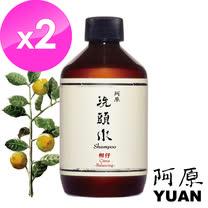 阿原-柑仔洗頭水250ml-2入組(油性長髮適用)