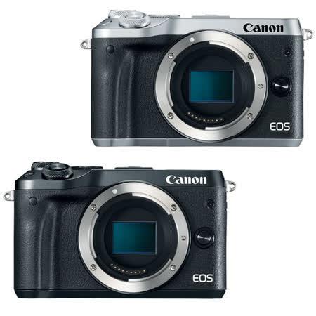 Canon EOS M6 單機身(公司貨)-送相機手腕帶+清潔組+保護貼
