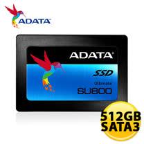 ADATA 威剛 Ultimate SU800 512GB 2.5吋 SSD 固態硬碟