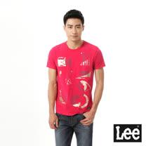 Lee 印花短袖T恤
