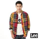 Lee 拼色長袖襯衫