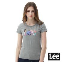 Lee 彩色線條LOGO短袖圓領 Regular fit
