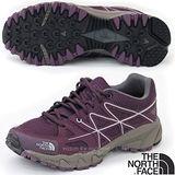 【美國 The North Face】女新款 低筒輕量跑步鞋.健行鞋.運動鞋.越野鞋/ultrATAC抓地輕型橡膠大底/2Y9Y 莓紫色 N