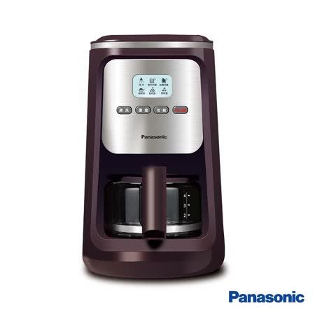 ★贈好禮★│Panasonic│國際牌 4人份研磨咖啡機 NC-R600