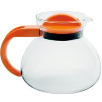 《EXCELSA》Teatime耐熱玻璃壺(橘1.9L)