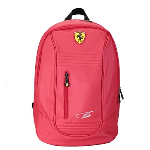 【Ferrari】義大利法拉利超跑限量簽名版後背包TF025A(紅色)