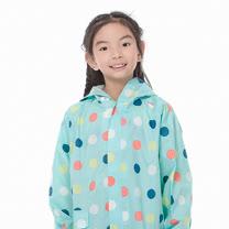 【rainstory】彩色點點兒童連身雨衣