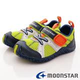 日本Carrot機能童鞋-兒茶素系列機能款-TSKC12A7黃藍-(15cm-20cm)