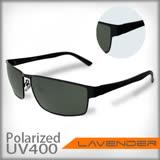Lavender偏光片太陽眼鏡1437 C2 黑色