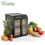 《Excalibur》伊卡莉柏雙電壓低溫乾果機十層-對開式(RES10)
