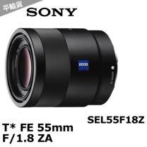 SONY Sonnar T* FE 55mm F1.8 ZA (平輸) - 加送抗UV保護鏡+專用拭鏡筆+大吹球清潔組