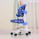 護眼博士 兒童成長學習椅(藍色)