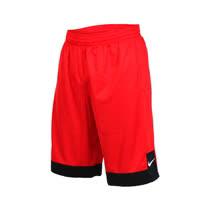 (男) NIKE 針織短褲-路跑 慢跑 運動 籃球褲 紅白
