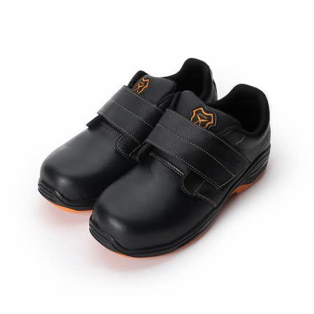 (男) PAMAX 防穿刺鋼頭安全鞋 黑 男鞋 鞋全家福
