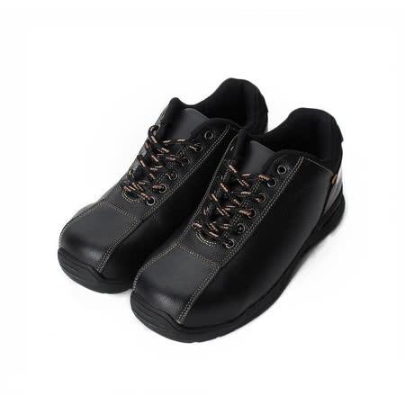 (男) PAMAX 防穿刺綁帶鋼頭安全鞋 黑 男鞋 鞋全家福