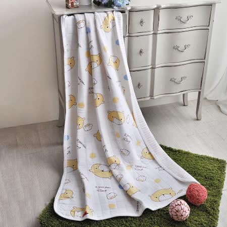 義大利Fancy Belle《QQ熊寶貝》色坊針織兒童涼被(100*140CM)