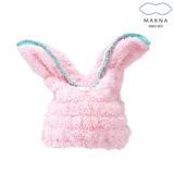 【MARNA】兔子造型浴巾帽