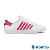 K-Swiss Belmont SO休閒運動鞋-女-白/瑰紅/印花