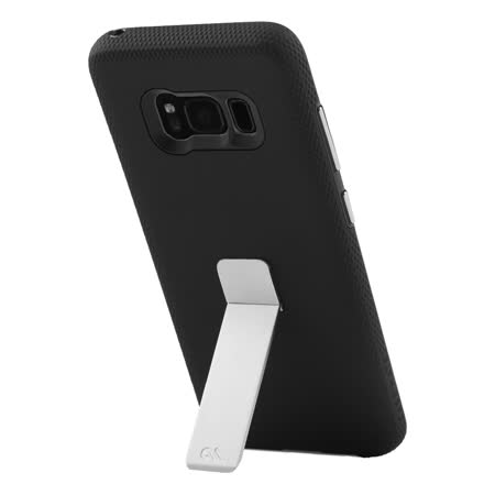 美國 Case-Mate Samsung Galaxy S8 Plus Tough Stand 金屬立架手機保護殼 - 黑
