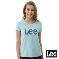 Lee 棕梠樹短袖圓領TEE