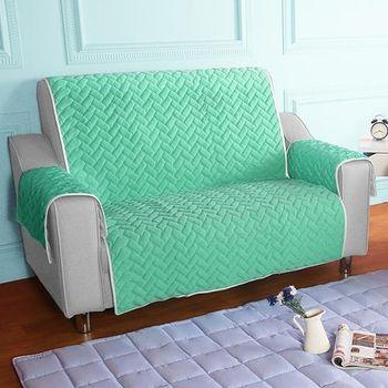 HomeBeauty 進階涼感沙發保潔墊 2人座薄荷綠
