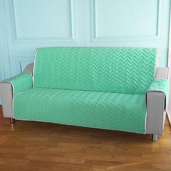 HomeBeauty 進階涼感沙發保潔墊 3人座薄荷綠