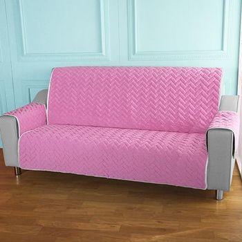 HomeBeauty 進階涼感沙發保潔墊 3人座清桃子