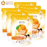 【橘子工坊】天然濃縮洗衣精補充包1500mlx6包/箱-制菌力