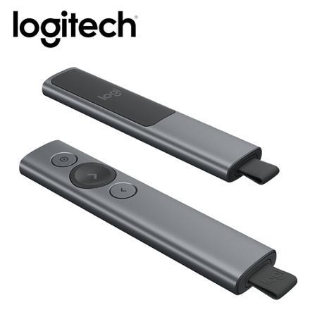 羅技Logitech SPOTLIGHT 簡報遙控器-質感灰