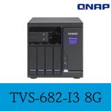 QNAP 威聯通 TVS-682-i3-8G 8-Bay NAS