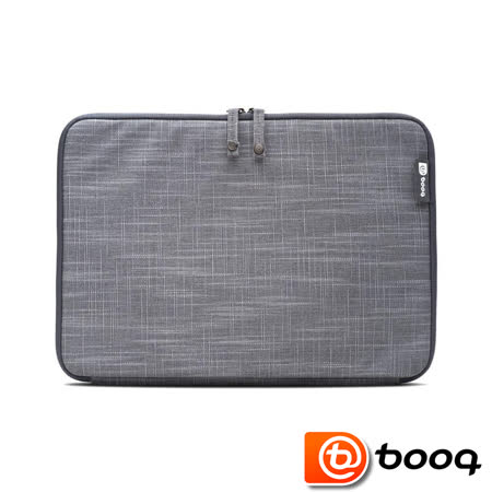 Booq Mamba Sleeve MacBook Pro 13 吋 (2016 Touch ID) 天然麻保护内袋 - 石墨灰