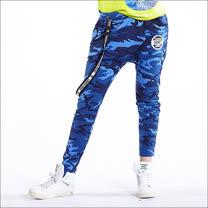 【TOUCH AERO】經典迷彩全長嘻哈褲 TA553
