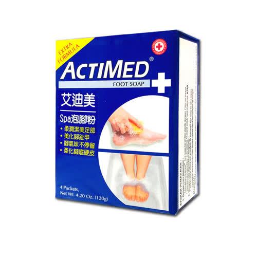 ACTIMED 艾迪美 spa泡腳粉 30g~4 盒◆德瑞健康家◆